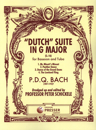 P.D.Q. Bach: Dutch Suite G-Dur