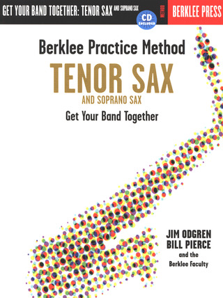 Odgren Jim Pierce Bill: Berklee Practice Method Tenor Sax Bk/Cd