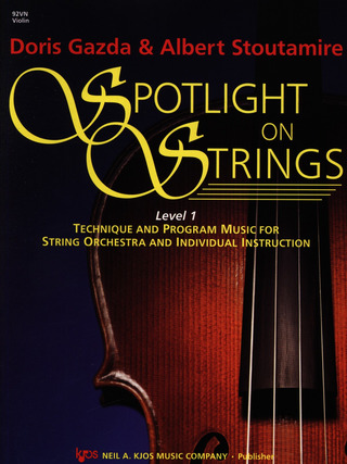 Gazda Doris + Stoutemire Albert: Spotlight On Strings 1