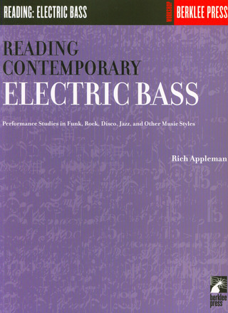 Appleman Rick Viola Joseph: Reading Contemp E-Bass Rhythms
