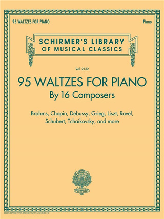 Paul Harris: 95 Waltzes For Piano