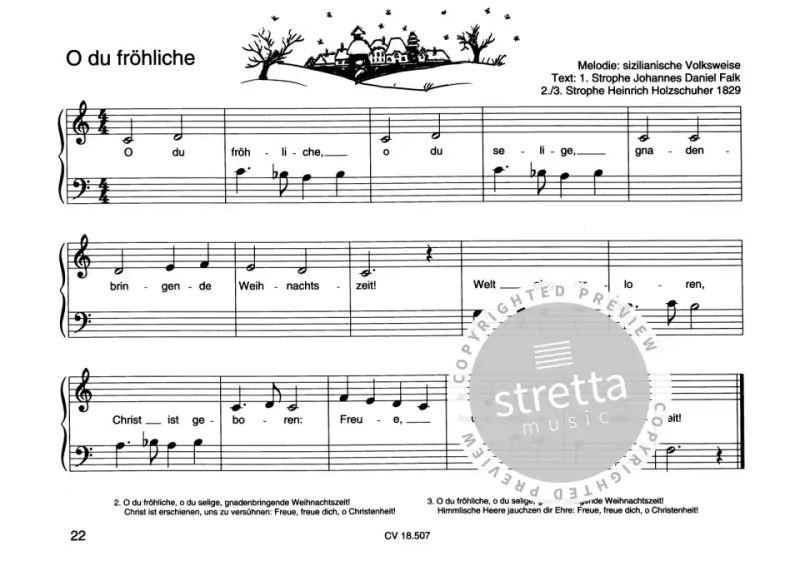 Keyboard Weihnachtslieder Anfänger.Weihnachtslieder Für Klavieranfänger 1 Im Stretta Noten Shop Kaufen