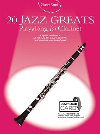 Monika Hildner: Guest Spot 20 All Time Jazz Greats Clarinet Bk/Cd