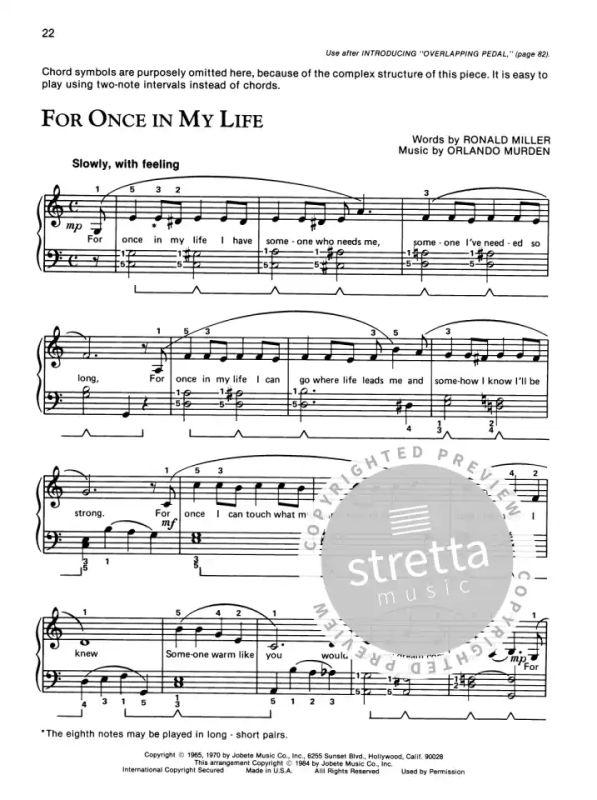 Pop Song Piano Book 1 from Palmer Willard / Manus Morton