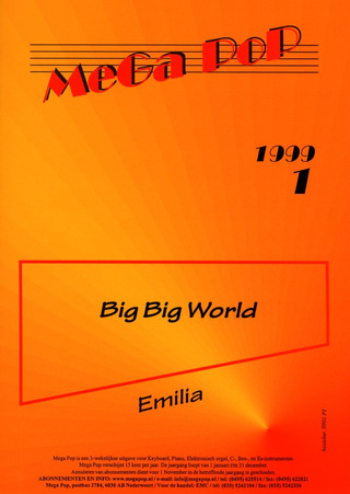 Anderson, Lars / Emilia / Rydberg: Big Big World