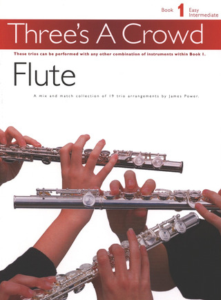 James Power: Three's A Crowd Flute Book 1