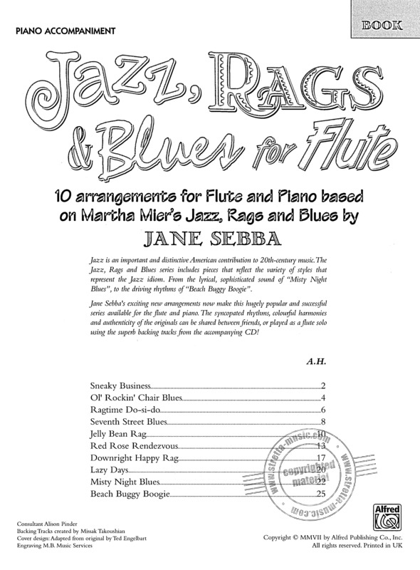 Martha Mier: Jazz Rags & Blues (1)