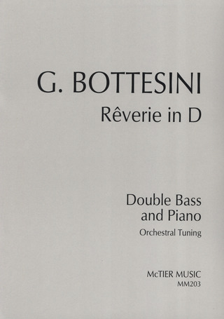 Giovanni Bottesini: Rêverie in D