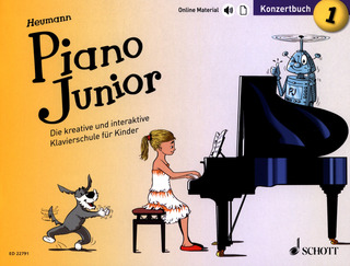 Hans-Günter Heumann: Piano Junior –  Konzertbuch 1