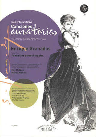 Enrique Granados: Canciones amatorias