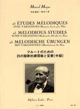 Marcel Moyse: 25 petites exercices melodiques avec variations