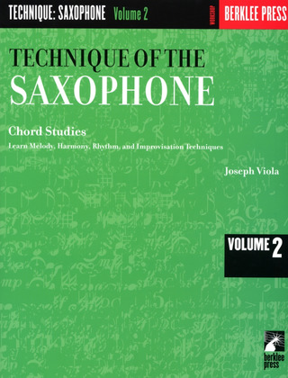 Viola, Joseph: Viola Technique Of The Saxophone Vol. 2 Chord Studies