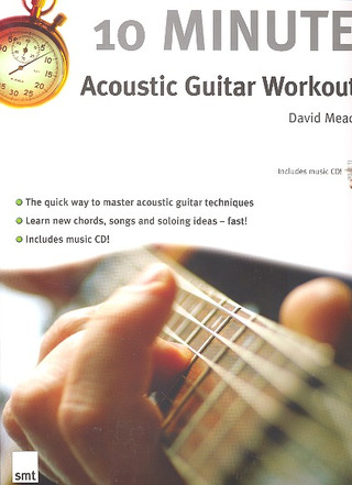 Mead David: 10 Minute Acoustic Guitar Workout Gtr Book/Cd