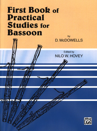 Macdowells D.: First Book Of Practical Studies For Bassoon