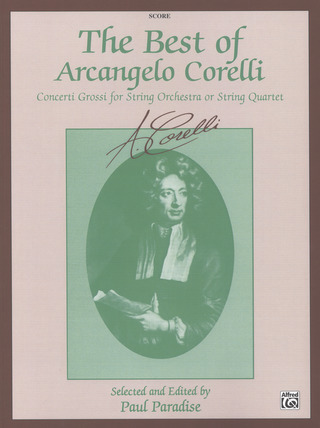 Arcangelo Corelli: The Best of Arcangelo Corelli