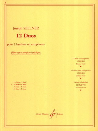 Joseph Sellner: 12 duos vol.2 (nos.4-6)