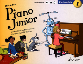 Hans-Günter Heumann: Piano Junior – Klavierschule 1