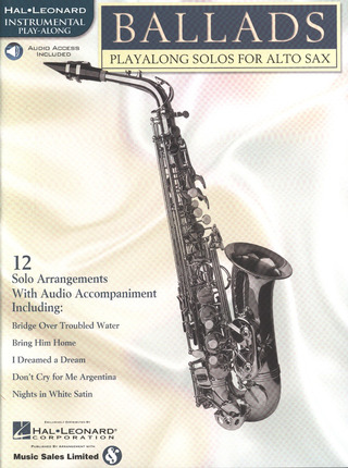 Ballads - Playalong Solos for Alto Sax