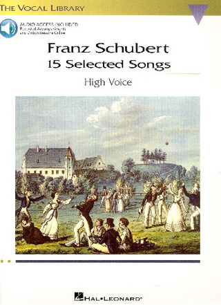 Franz Schubert: 15 Selected Songs