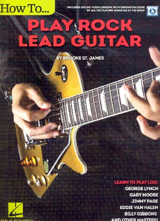 Brooke St. James: How to play Rock Lead Guitar