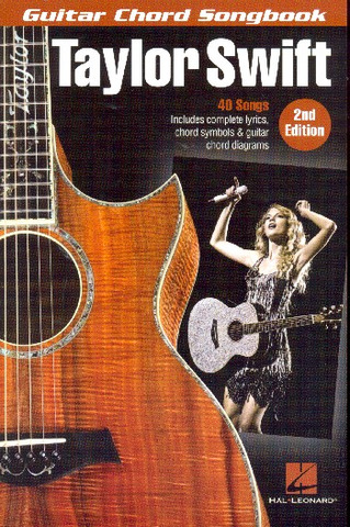 Guitar Chord Songbook: Taylor Swift – 2nd Edition