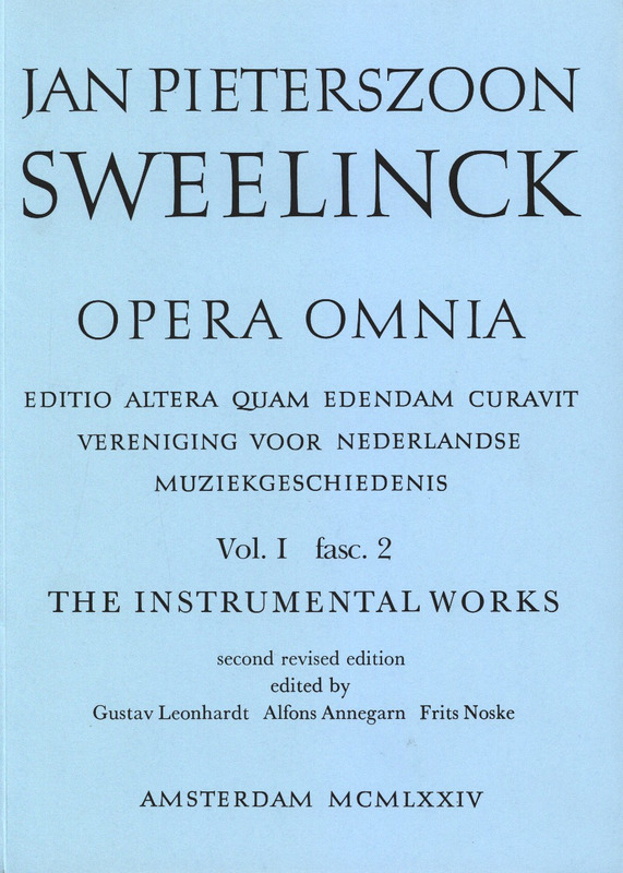 Jan Pieterszoon Sweelinck: Opera Omnia 2 - Instrumental Works