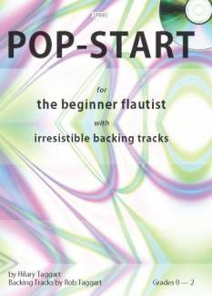 Taggart Hilary + Taggart Rob: Pop Start For Beginner Flautist