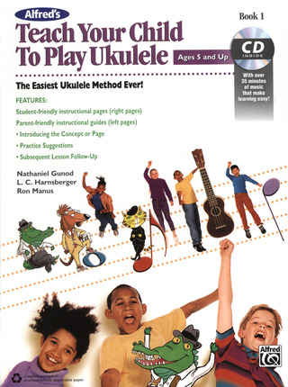 Nathaniel Gunod: Teach your child to play Ukulele 1