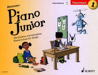 Hans-Günter Heumann: Piano Junior – Theoriebuch 1