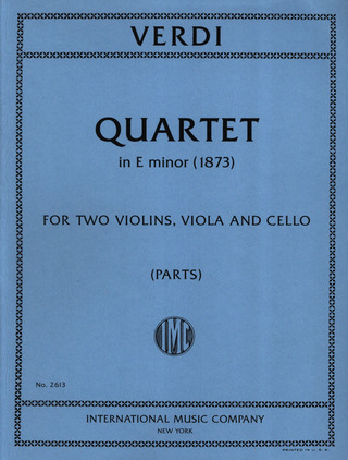 Giuseppe Verdi: Quartet in E minor