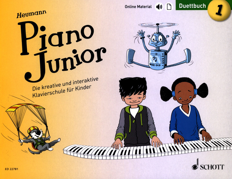 Hans-Günter Heumann: Piano Junior – Duettbuch 1