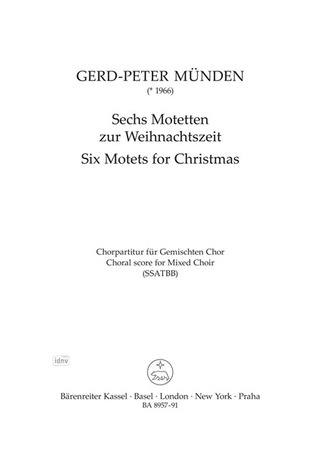 Gerd-Peter Münden y otros.: Six Motets for Christmas