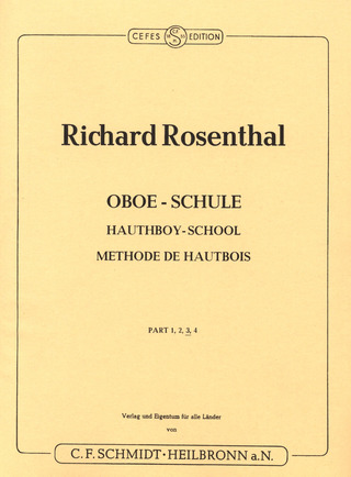 Richard Rosenthal: Hauthboy-School 3