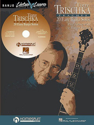 Trischka Tony: Trischka Tony Teaches 20 Easy Banjo Solos Book/Cd