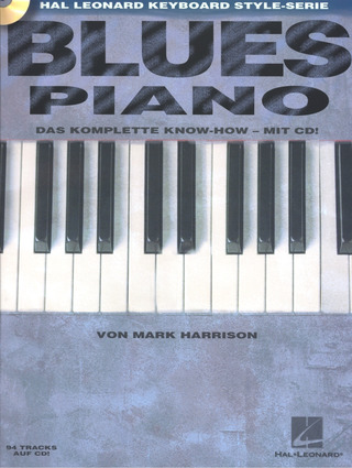 Harrison, Mark: Blues Piano