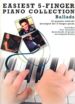 Easiest 5-Finger Piano Collection Ballads Pf