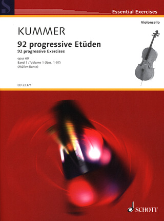 Friedrich August Kummer: 92 progressive Etüden op. 60/1