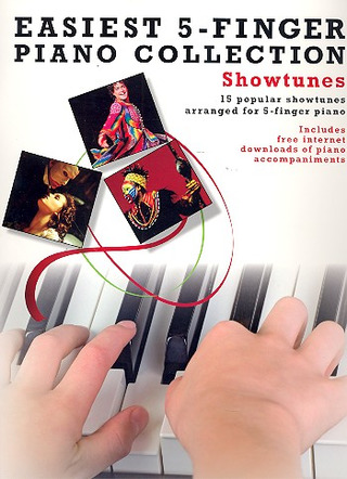 Easiest 5-Finger Piano Collection Showtunes Pf