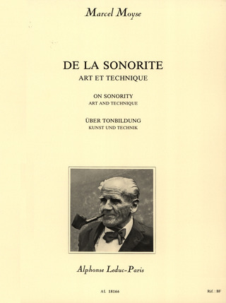 Marcel Moyse: On Sonority