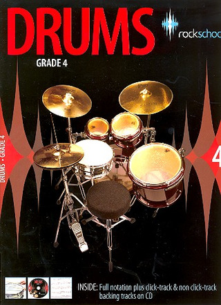 Rockschool Drums - Grade 4 (2006-2012) Book/Cd