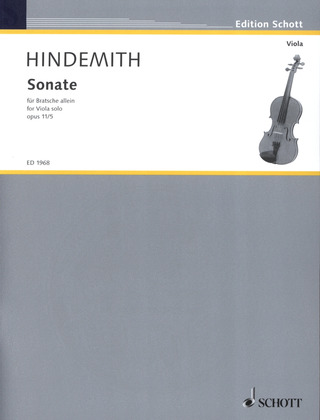 Paul Hindemith: Sonate op. 11/5 (1919)