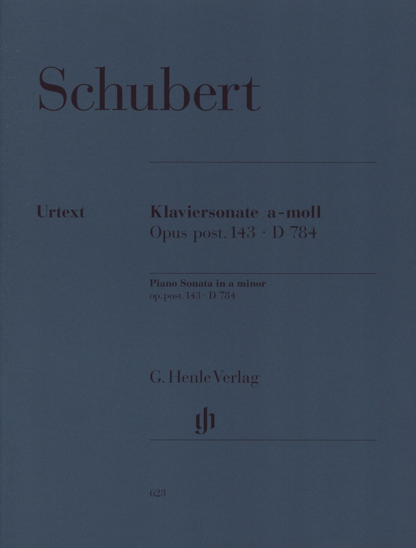 Franz Schubert: Klaviersonate a-moll op. post. 143, D 784