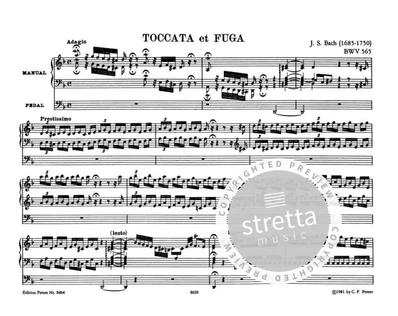 Toccata Und Fuge D Moll Bwv 565