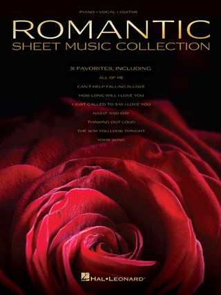 Romantic sheet music collection