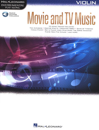 Movie and TV Music – Violin