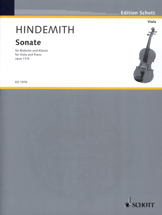 Paul Hindemith: Sonate in F F-Dur op. 11/4 (1919)