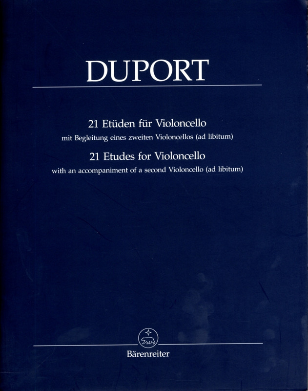 Jean-Louis Duport: 21 Etudes