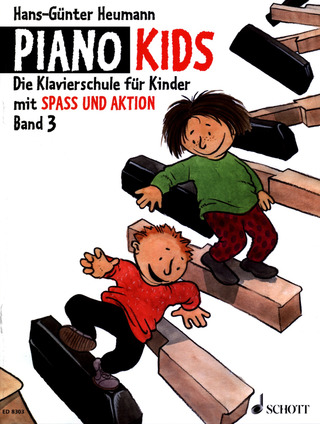 Hans-Günter Heumann: Piano Kids 3/ Aktionsbuch 3