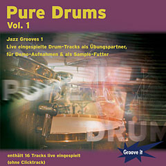 Pure Drums 1 – Jazz Grooves 1