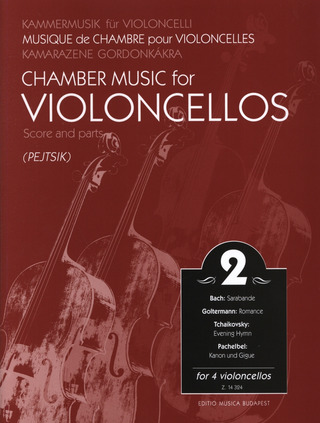 Chamber Music for Violoncellos 2